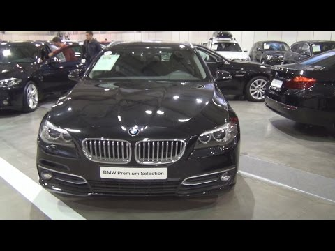 BMW 525d xDrive Touring (2013) Exterior and Interior in 3D