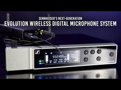 Sennheiser's Next-Generation Evolution Wireless Digital Microphone System | First Look