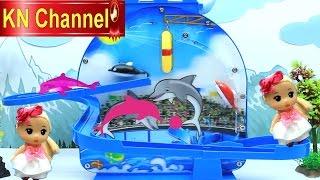 Đồ chơi trẻ em Búp bê Chibi xem XIẾC CÁ HEO công nghệ cao thật chuyên nghiệp Baby Doll Kids toy