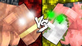 Hoglin vs. Zoglin - Minecraft