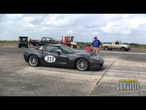 Corvettes - The Texas Mile - October 2010 (part I)