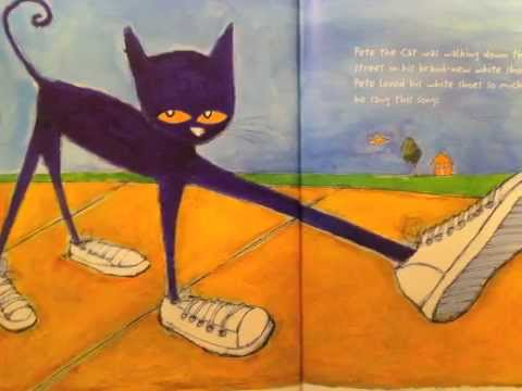 Youtube Pete The Cat And His White Shoes