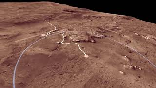 Fly Over Mars 2020 Landing Site Jezero Crater in NASA Animation