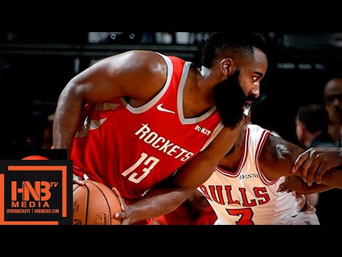 Houston Rockets vs Chicago Bulls Full Game Highlights | 12.01.2018, NBA Season