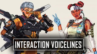 All NEW Interaction Voicelines Between Every Legend in Apex Legends Season 9