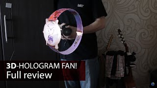 Utorch FY3D - Z1 Holographic Fan 3D Display Review