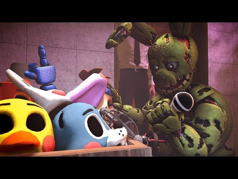 [SFM FNAF] Old Memories #2 - Five Nights at Freddy's SAD Animation
