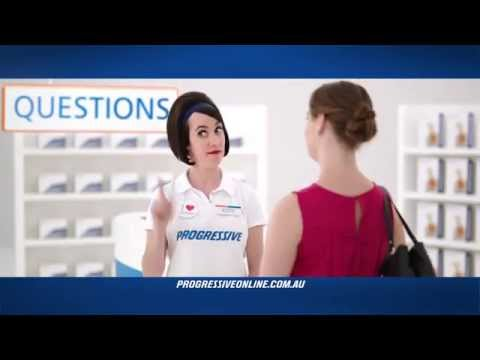 Questions about Car Insurance Savings - Progressive Online TV Ad