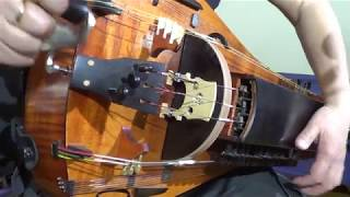 Dark Medieval Blues. Hurdy-Gurdy, Organ & Drum