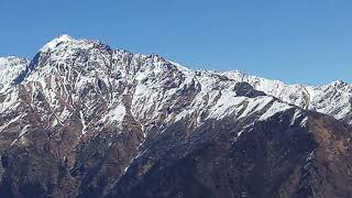 A view of mountains from AULI UTTRAKHAND