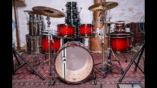 Mapex Design Lab Black Panther Versatus System Shell Pack - Drummer's Review