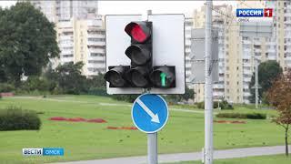С 1 октября в Омске на перекрёстке улиц Менделеева – Заозерная кардинально изменится схема движения