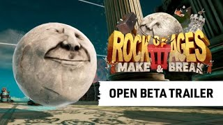 Rock of Ages 3 rolling into open beta