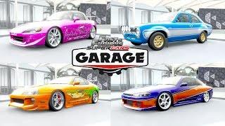 Forza Horizon 3 - Fast and Furious !! Garage