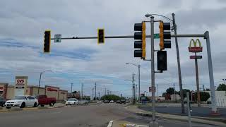 Traffic Lights Go Into Flash Mode Right in Front of Me!