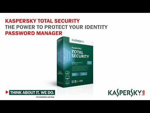 Kaspersky Total Security Features: Password Manager