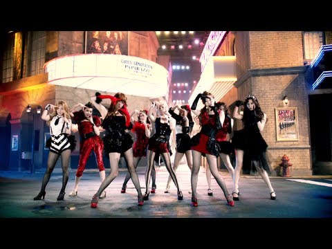 Girls' Generation 少女時代 'PAPARAZZI' MV
