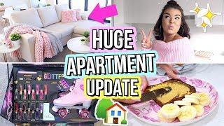 New Furniture, Birthdays & DISLOCATING MY KNEE! Moving Vlog #3