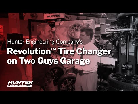 Two Guys Garage TV Spot for SEMA 2015 - Hunter Engineering Co.