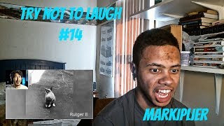 TRY NOT TO LAUGH #14 REACTION | Markiplier Reaction