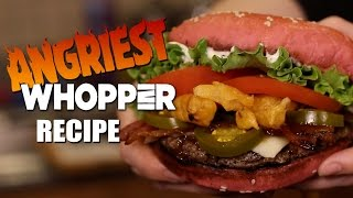 Worlds Spiciest Burger King Whopper