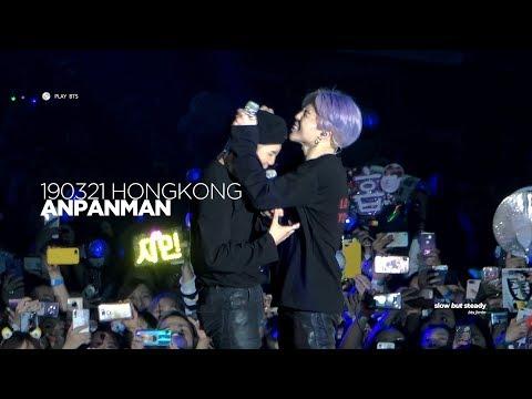 190321 방탄소년단 지민 (BTS JIMIN) - ANPANMAN (JIMIN FOCUS 4K fancam)