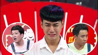 """Trường Giang, Trấn Thành """"LA MẮNG"""" làm thí sinh KHÓC NHƯ MƯA tại Thách Thức Danh Hài mùa 5"""