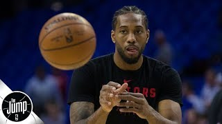 There is no pressure on Kawhi Leonard in Game 1 - Tracy McGrady | The Jump