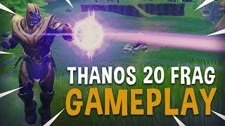 Thanos 20 Frag Gameplay - Fortnite Battle Royale - Ninja