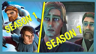 The Evolution of Star Wars the Clone Wars animation