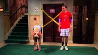 TBBT-Sheldon und Penny machen Sport!!!!