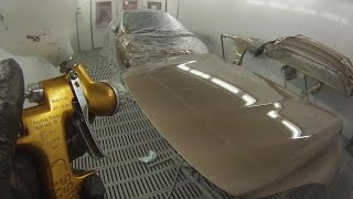 Spray Painting Tutorial Volvo V40 Raw Copper Met