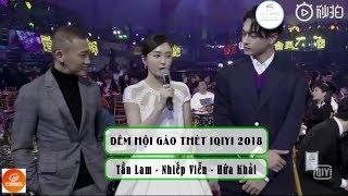 [Vietsub] Phỏng vấn Tần Lam, Nhiếp Viễn, Hứa Khải - Đêm hội gào thét Iqiyi 2018 | 秦岚 - 2018爱奇艺尖叫之夜