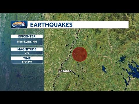 Earthquake felt in the upper valley