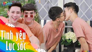"""Cặp đôi đam mỹ ĐẸP MÃN NHÃN thể hiện tình cảm ngay trên sóng truyền hình khiến chị em """"bấn loạn"""""""