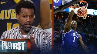 Stephen Jackson examines how Zion and Morant's game translate to the NBA | NBA | FIRST THINGS FIRST
