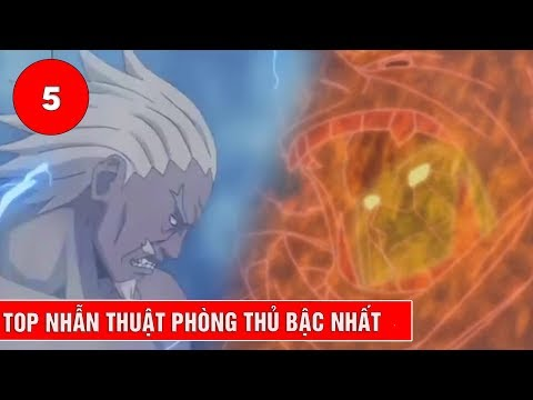Top 5 nhẫn thuật phòng thủ bậc nhất trong Naruto