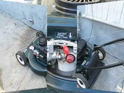 Lawn Mower Repair Pt 1 Starts Amp Dies Tecumseh Craftsman