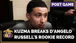 Kyle Kuzma Breaks D'Angelo Russell's Rookie Record