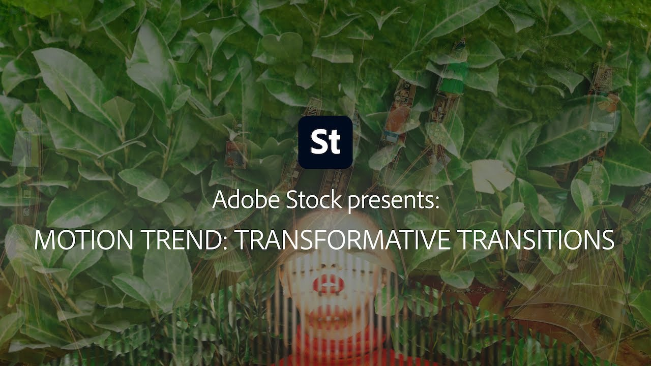 Transformative Transitions from Adobe Stock | Adobe Creative Cloud