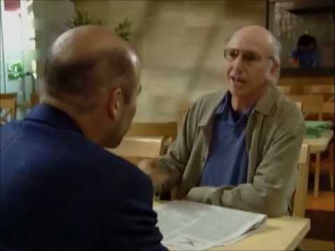Larry David on Being Bald