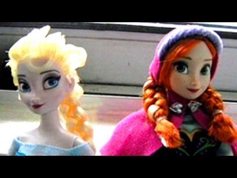 Anna Amp Elsa Doll Unboxing Skip To 4 00 Youtube