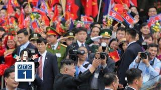 Chủ tịch Triều Tiên Kim Jong-un lên tàu trở về nước