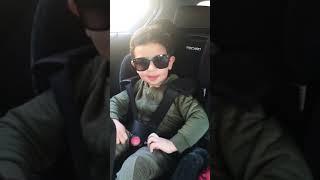 2 year old baby/toddler singing Mere Naam Tu - Zero - Part 1