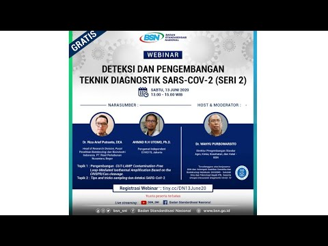 https://www.youtube.com/watch?v=IVhqy3-G2PcDeteksi dan Pengembangan Teknik Diagnostik SARS-CoV-2 (Seri 2)