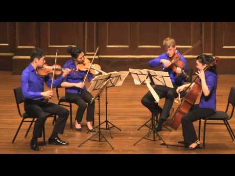 Here I am playing with the Blueberry Quartet in a Jordan Hall Concert. We are playing Beethoven Op. 127.