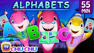 Baby Shark ABC Song and Many More Videos | ChuChu TV Popular Nursery Rhymes Collection