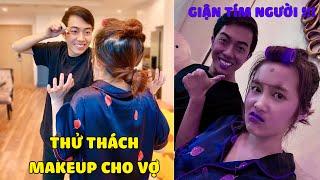 CrisDevilGamer THỬ THÁCH MAKEUP CHO VỢ Mai Quỳnh Anh