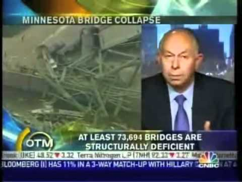 Aging Infrastructure in the United States - Bridge Collapse - Minnesota 2005