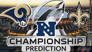 2018 - 2019 NFL Playoff Predictions - Los Angeles Rams vs New Orleans Saints